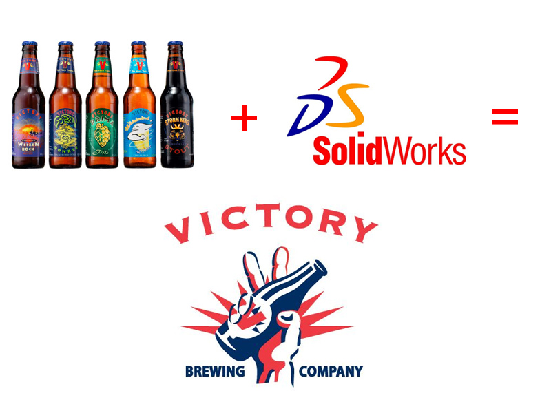 Victory Brewing uses Solidworks CAD