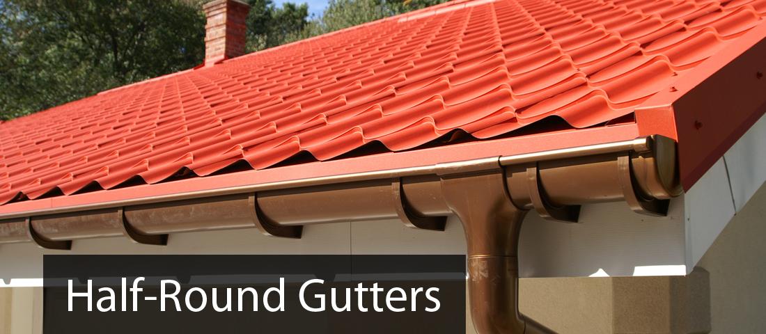 Half Round Gutters